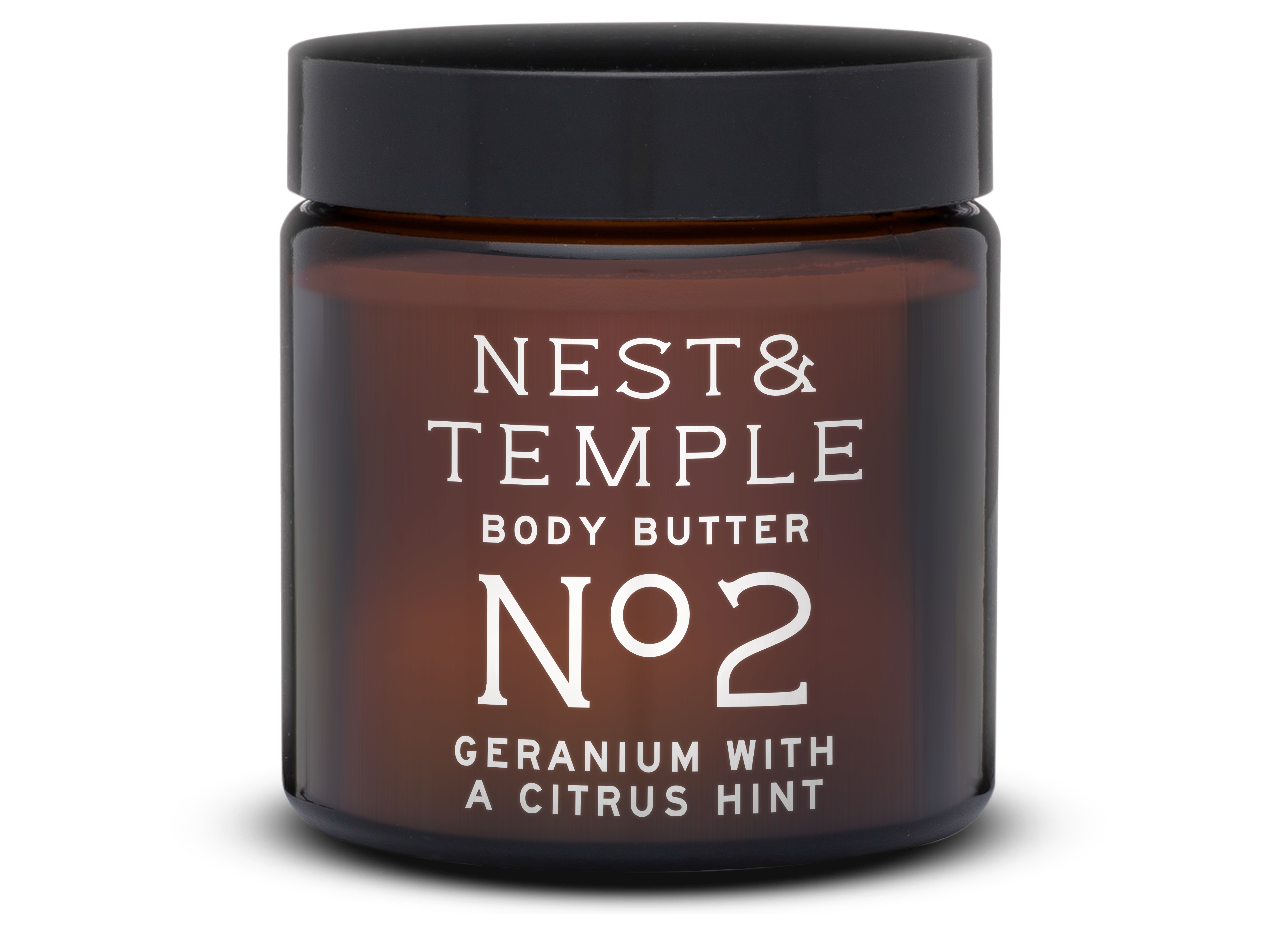 NO 2 BODY BUTTER – GERANIUM CITRUS